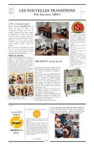 Newsletter n°2 du pôle insertion sept 2021